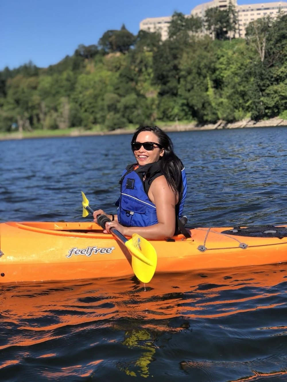 On Lake Oswego with Alder Creek Kayaking