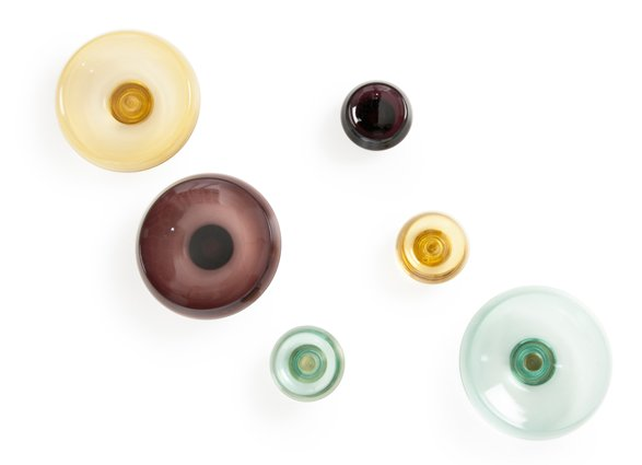 Glass knobs from Tom Dixon