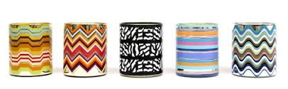 Missoni Home candle range by Apothia