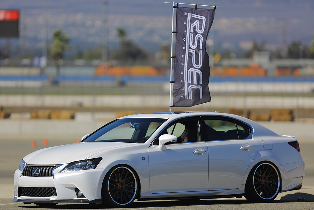 Look for our Lexus GS350 F-Sport and Infiniti G37S at the Exedy Clutch booth at Formula Drift Long Beach!