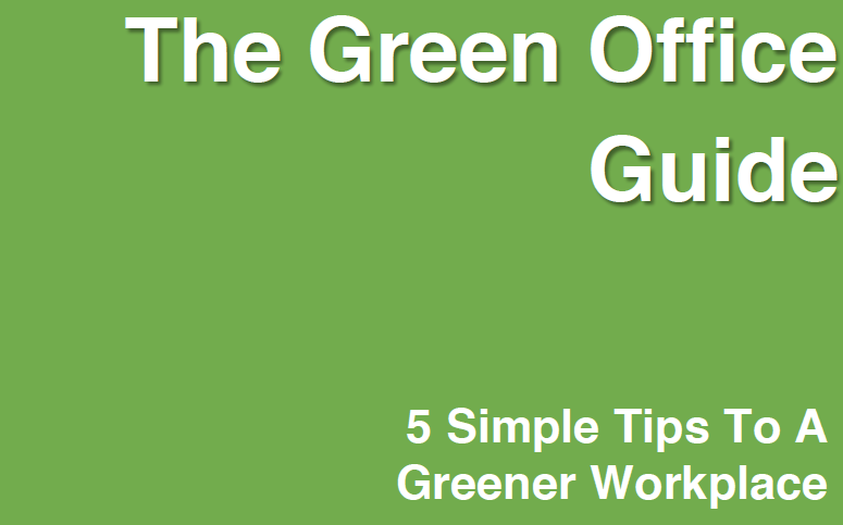 5 Starting Steps - Green Office  eBook
