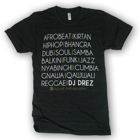 DJ Drez Music T Shirt