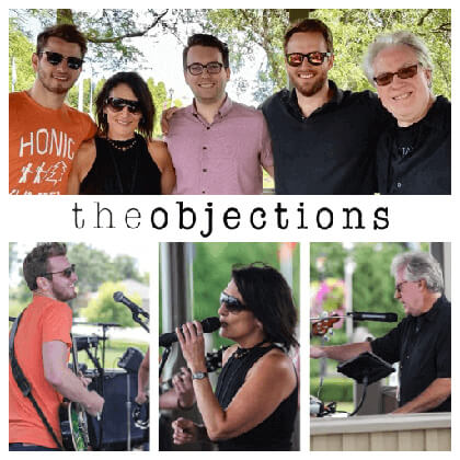 The Objections - 11:00 - 12:00 and 1:00 - 3:00Audio Tracks