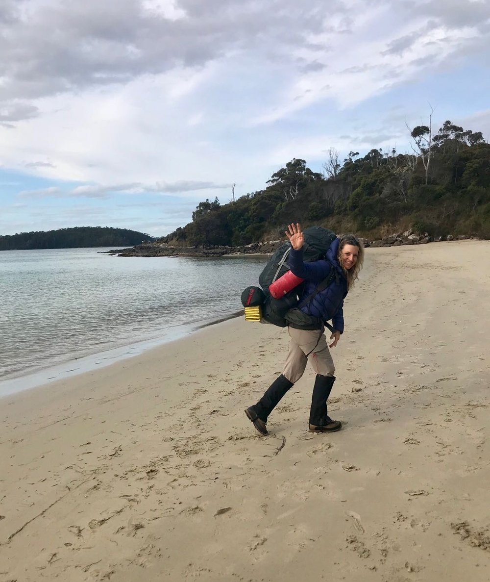 Departure for a new expedition in Tasmania,  The Edge Of The World