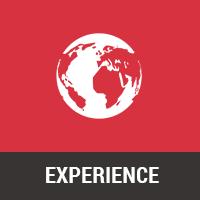 Global, regional, local experience
