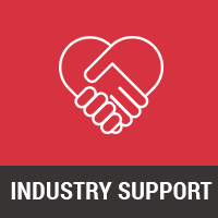 Supported by agencies, industry bodies