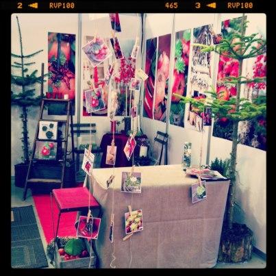 Blomsteidéer.dk på Bogforum i Bella Center, Blomsteridéer, Annie Dorthe Sandholm