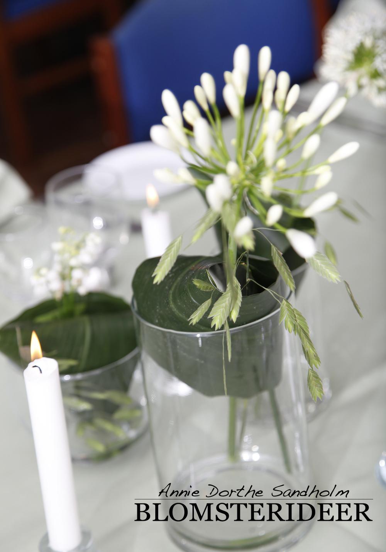 borddækning, fødselsdagsfest, Liljekonvaller, blomsterdekorationer, blomster, blomsterinspiration, Allium