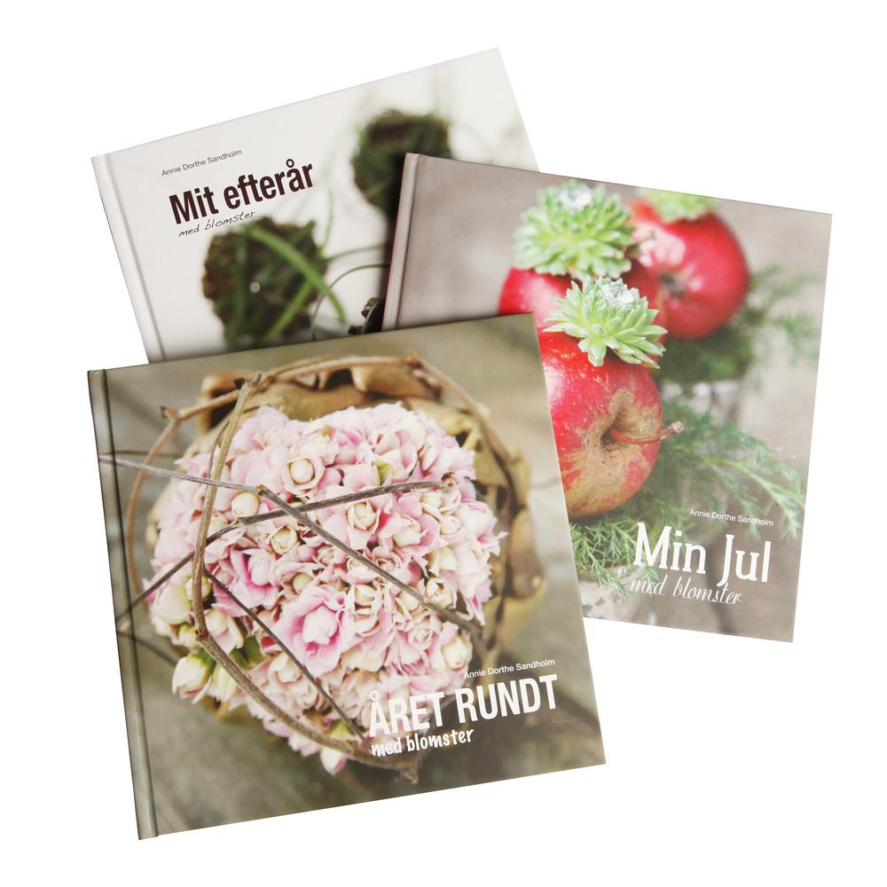 Mit efterår med blomster, min jul med blomster, Året rundt med blomster, blomsterideer, inspiration, jul, dekorationer
