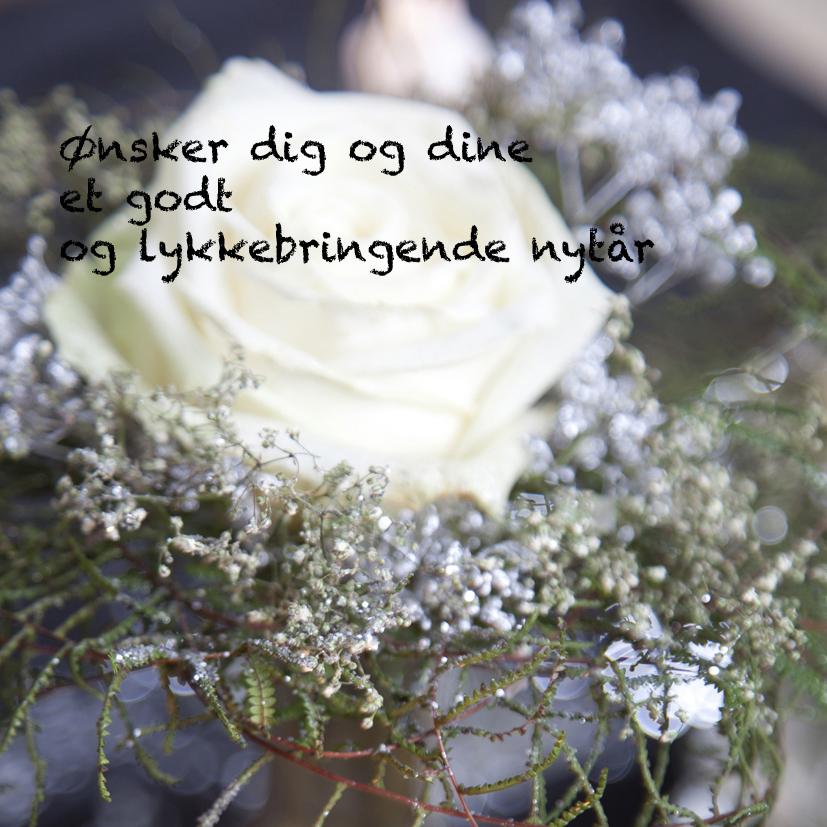 NytÃ¥rsdekoration til dig... — Velkommen til mit blomsterunivers