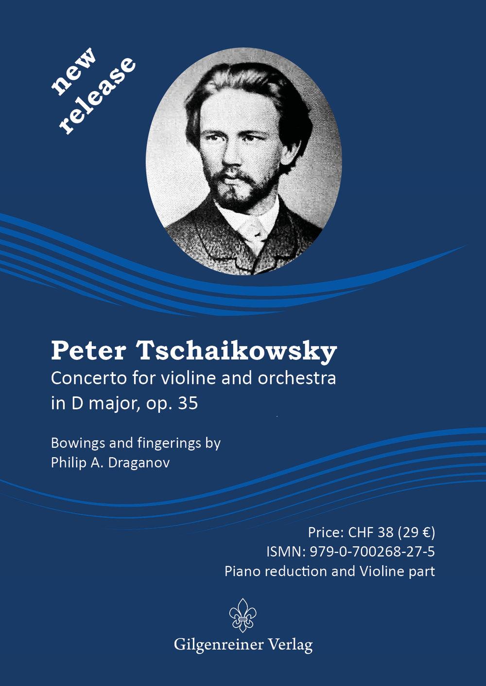 Violinkonzert Tchaikovsky Philip Draganov