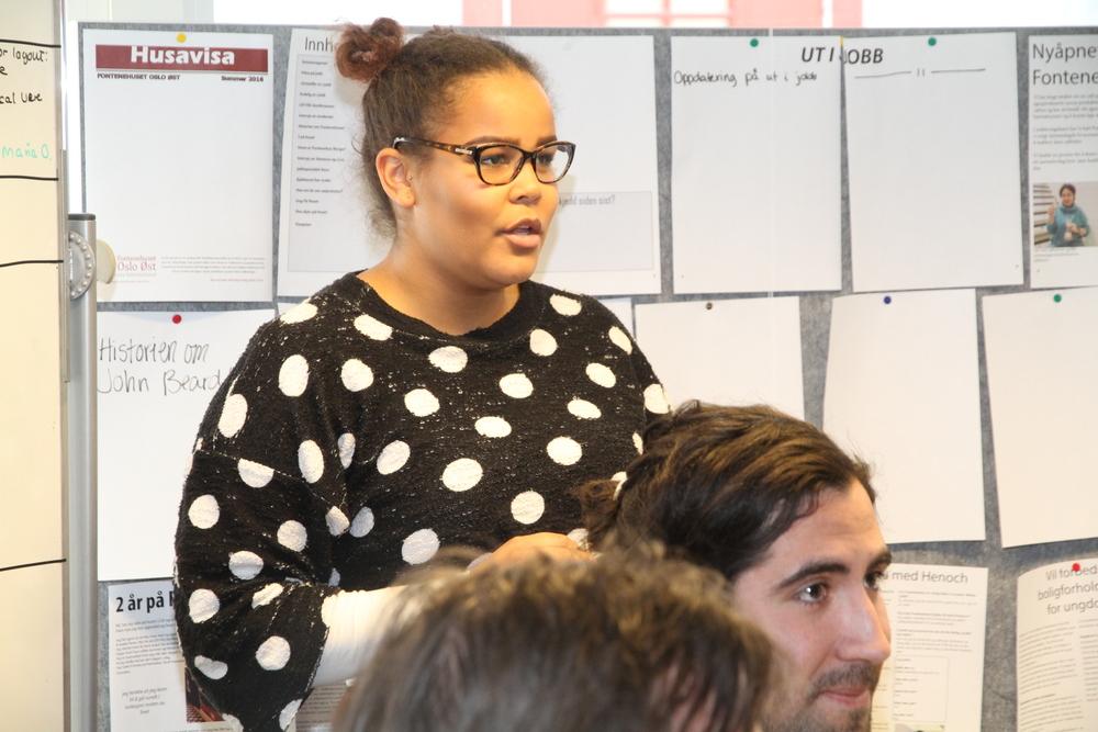 Maria Forteller Erna Solberg om media arbeidet vårt