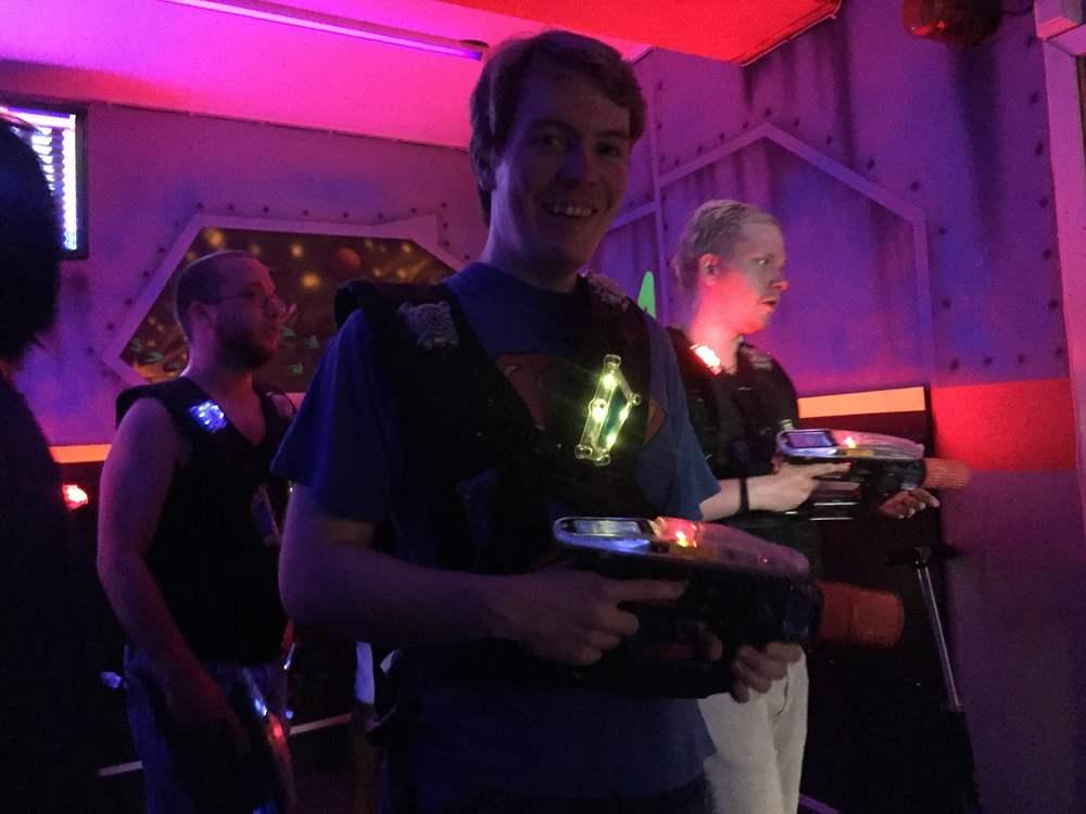 Victor er fornøyd etter endt spill