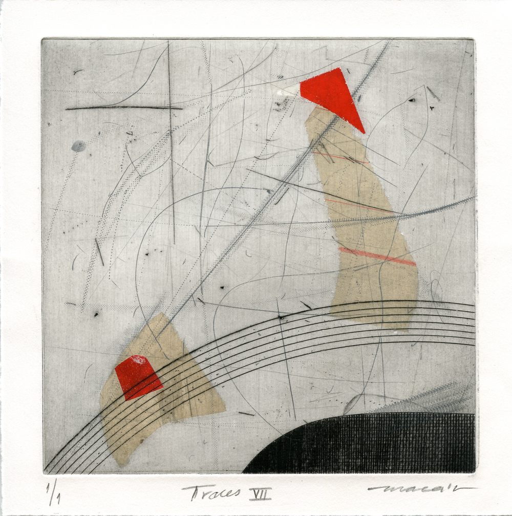 Canchari, Mariela: Traces vii etching
