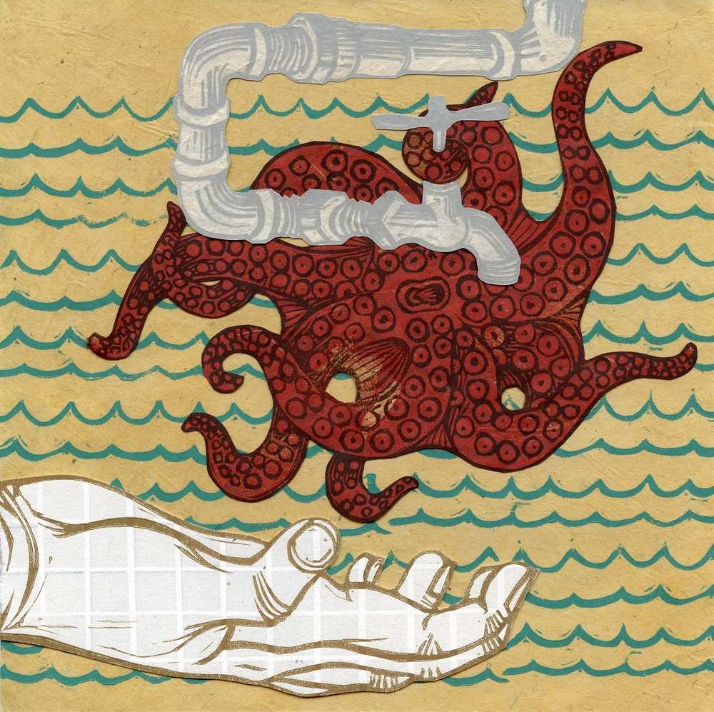 Googe, Courtney Nicole: Come to Me relief collage