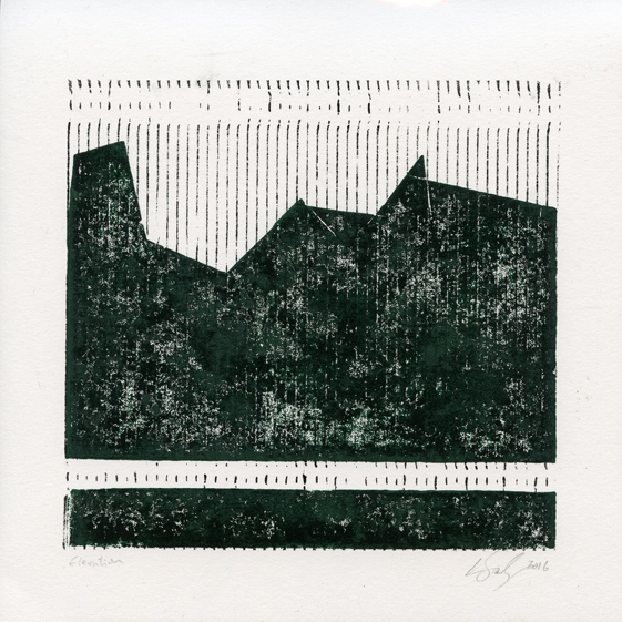 Sisley, Logan: Elevation reliefprint