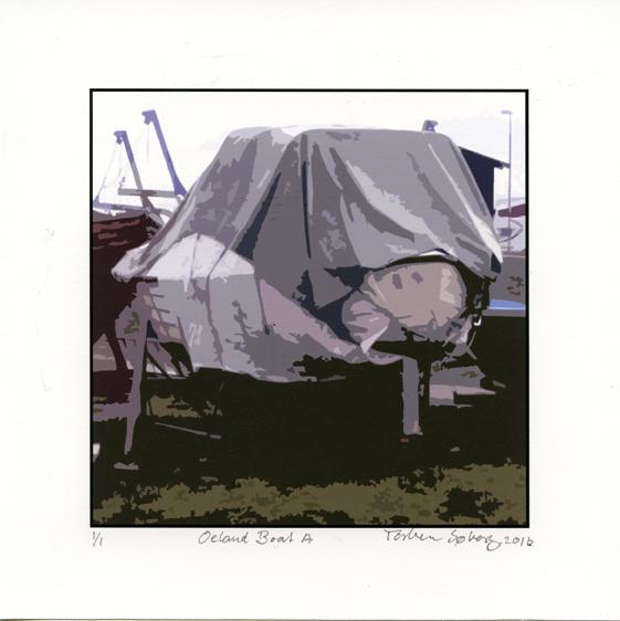 Søborg, Torben -  Oeland Boat A - pigment print