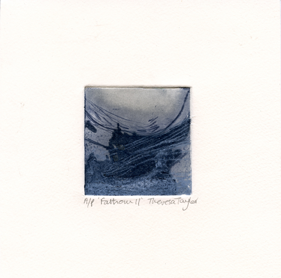 Taylor, Theresa: Fathom drypoint with marble dust