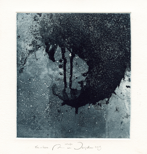 Wajda, Anna: Forest Night intaglio