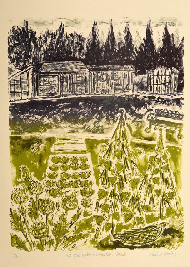Mr Creighton's Garden Shed
