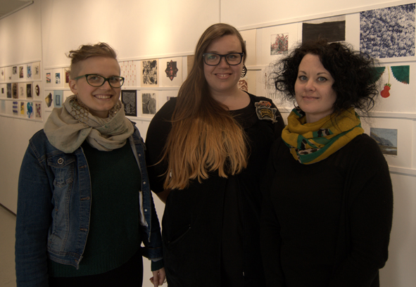 Mervi Viitajylha, Christine Jalio and Susanna Shearman