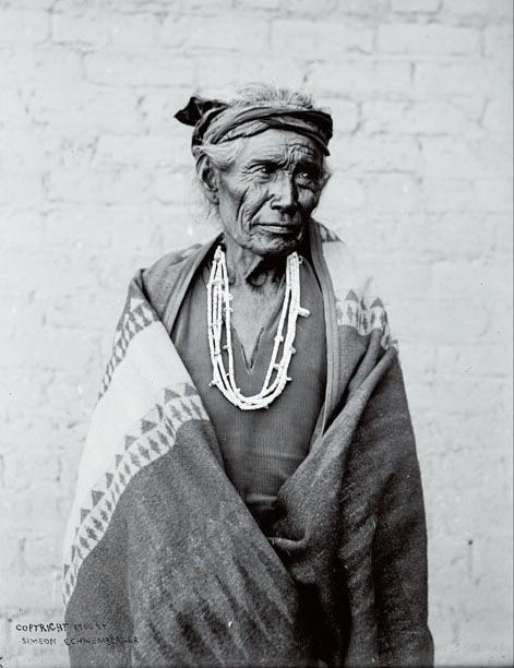 Dine Tsosi, last of the Navajo war chiefs. Courtesy of Arizona State University and St. Michaels Mission and the Province of Our Lady of Guadalupe of the Order of Friars Minor