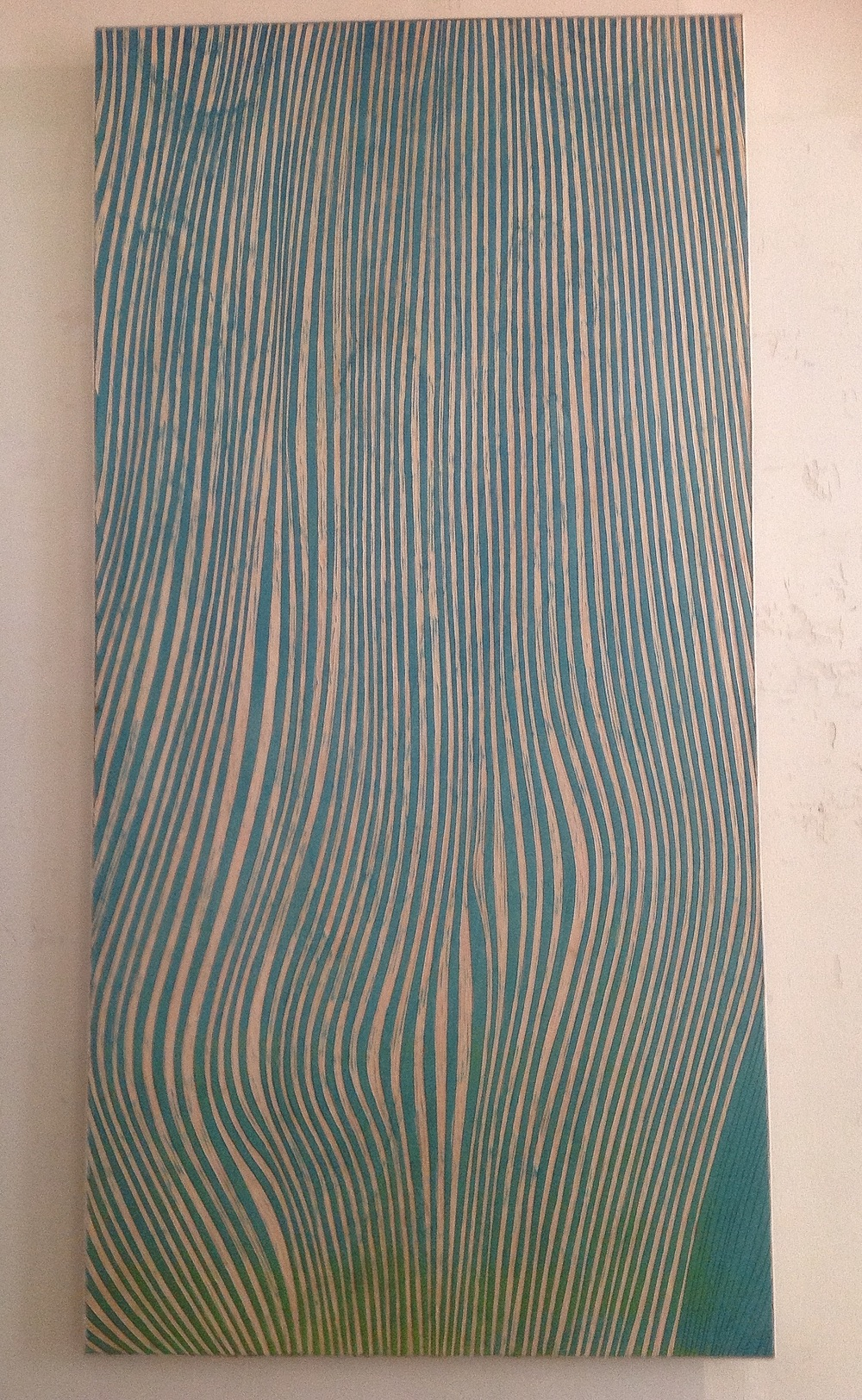 Cut 100x200  panel wood  still available at my gallery