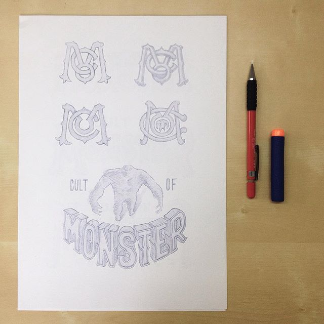 Monogram and perspectives, enjoyed working on this project! #handlettering #lettering #typography #logo #monogram
