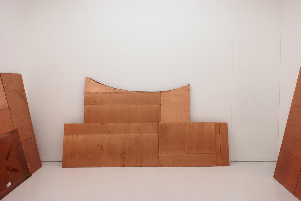 Danh Vo, We The People (detail), 2011–2013. Installation views at PEER, 2013. All photos: Peter White FXP Photography