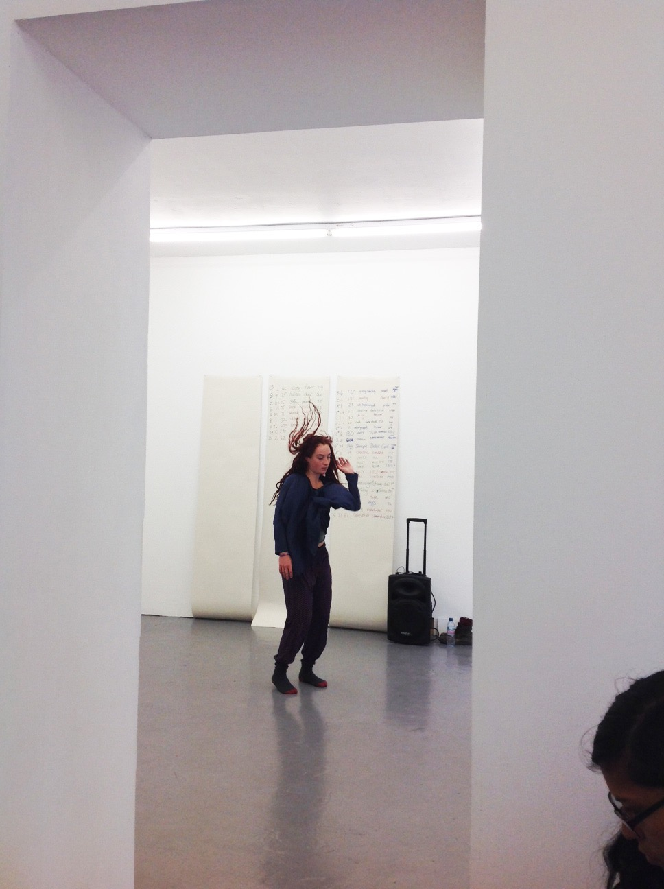 Isabella Efstathiou performance at PEER on Thursday 21 August