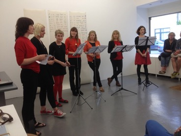 Lisa Skuret, Sally O'Reilly and the Dolly Mixtures, performance at PEER on Saturday 16 August