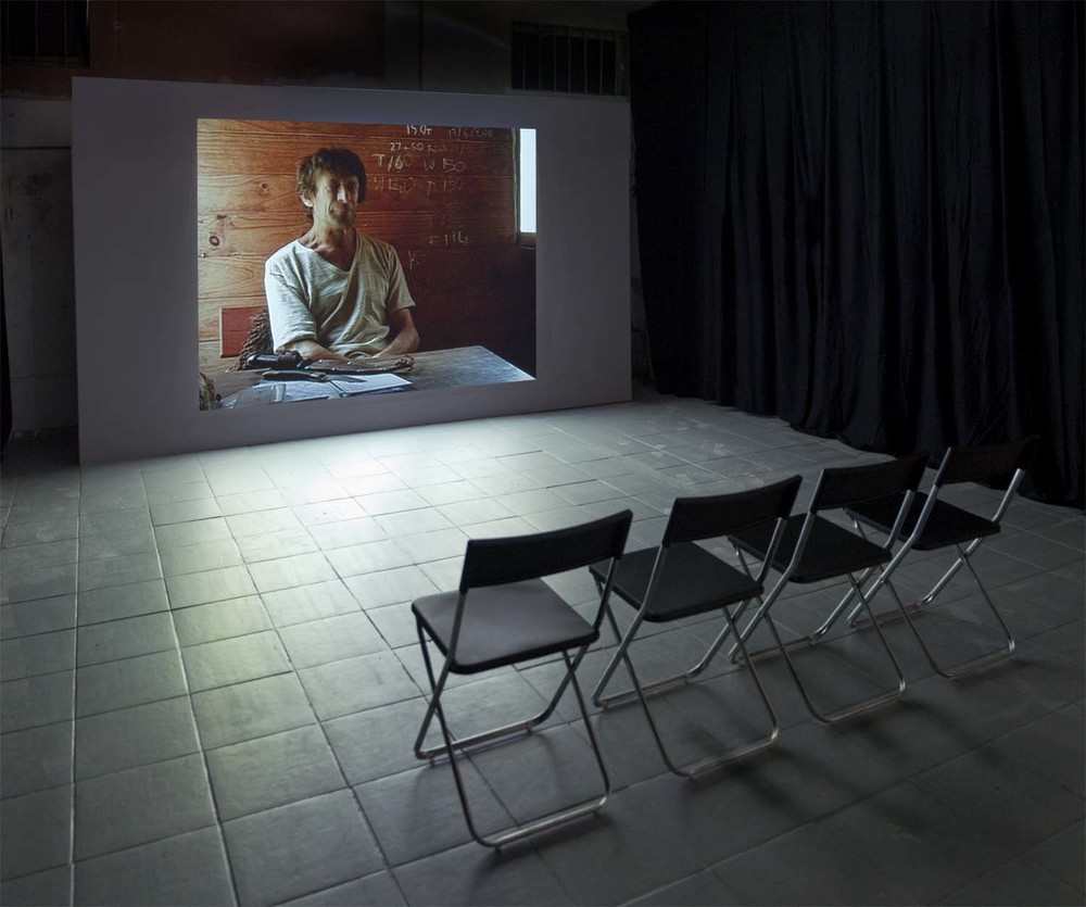 Installation shot Killing Time, 2008 Video, 14'47""