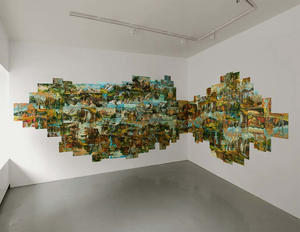 The Possibility of an Island, 2008 found paintings