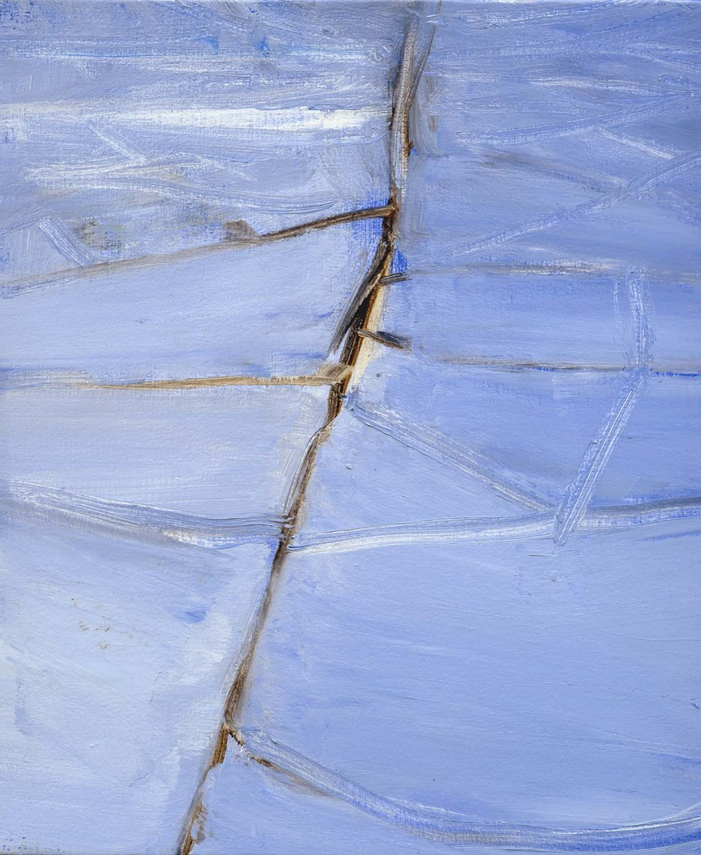 Aerial View , 2008 26 x 23 cm oil on canvas