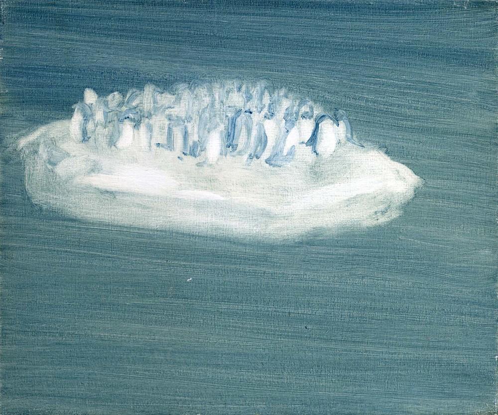 Colony , 2008 26 x 30.5 cm oil on canvas
