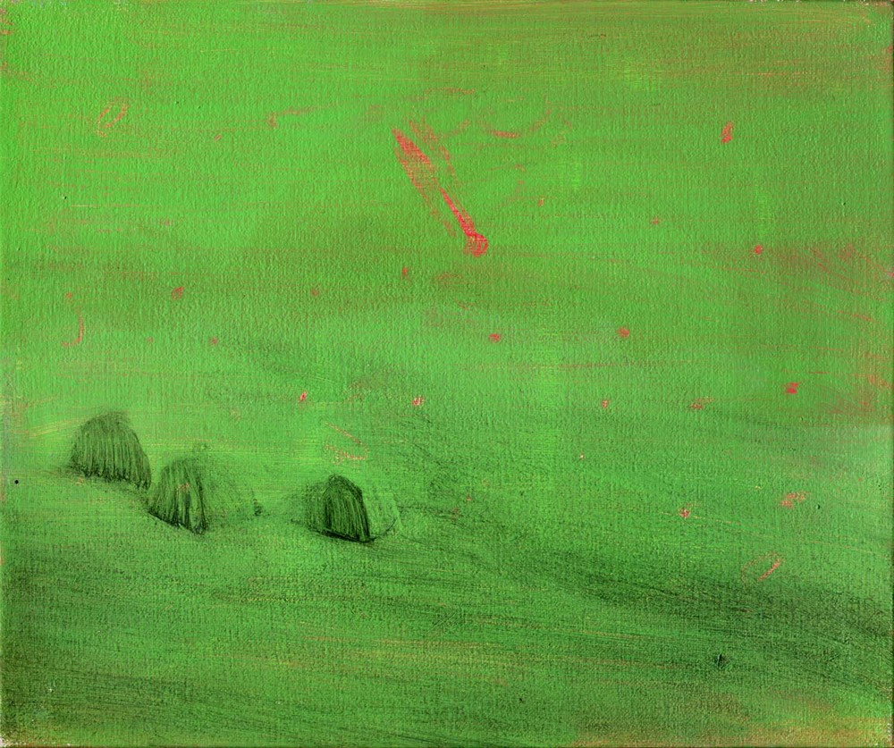 Comet , 2008 20 x 24 cm oil on canvas