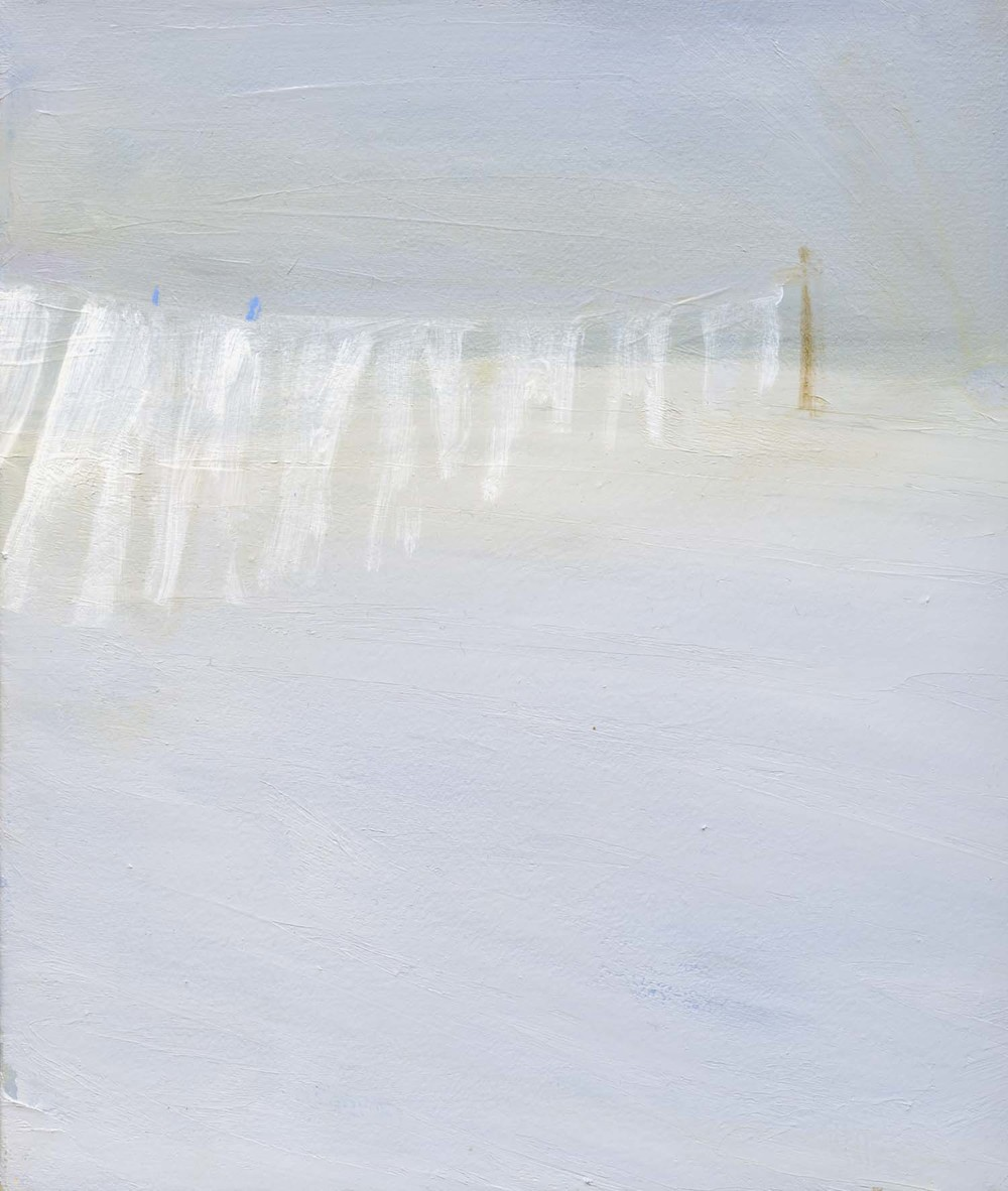 Ghostline, 2008 26.5 x 23 cm oil on canvas