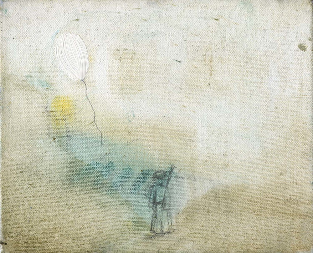Little Hydrogen , 2007 17 x 21 cm oil on canvas