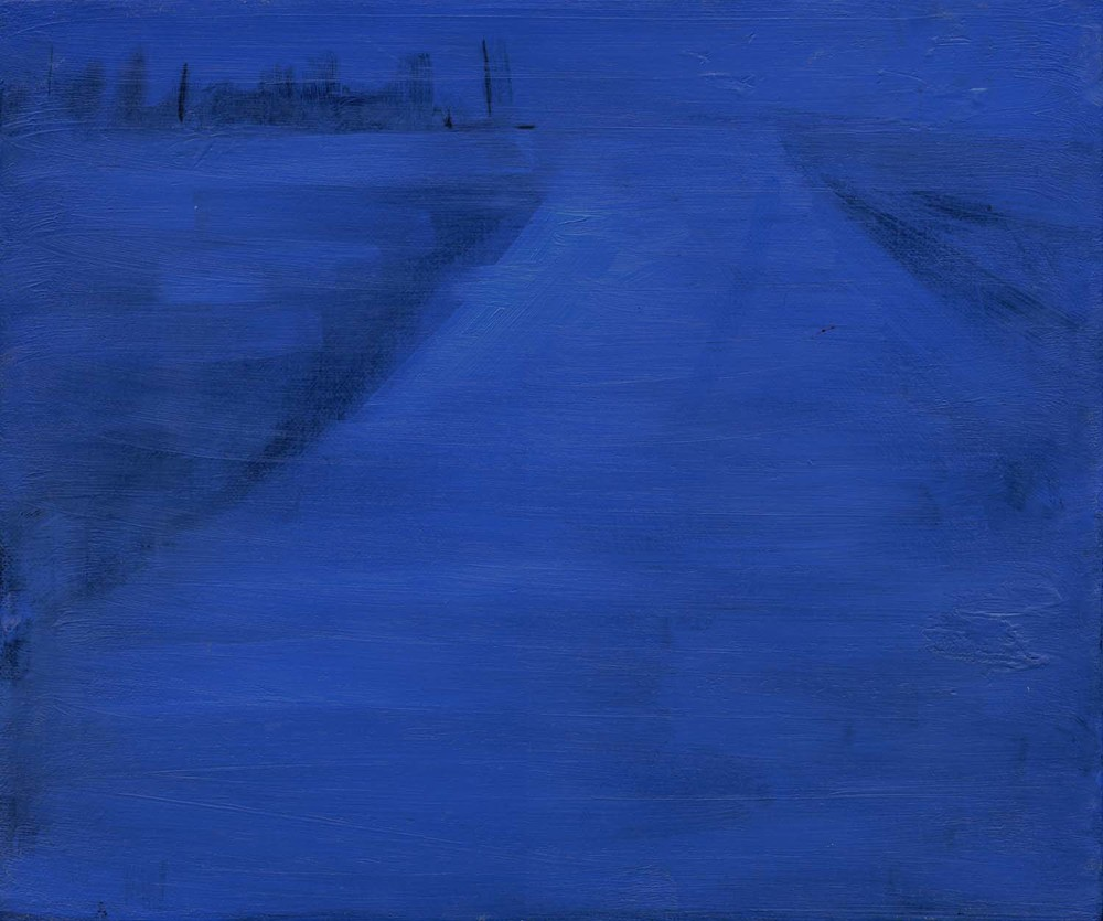 Runway , 2008 26 x 31 cm oil on canvas