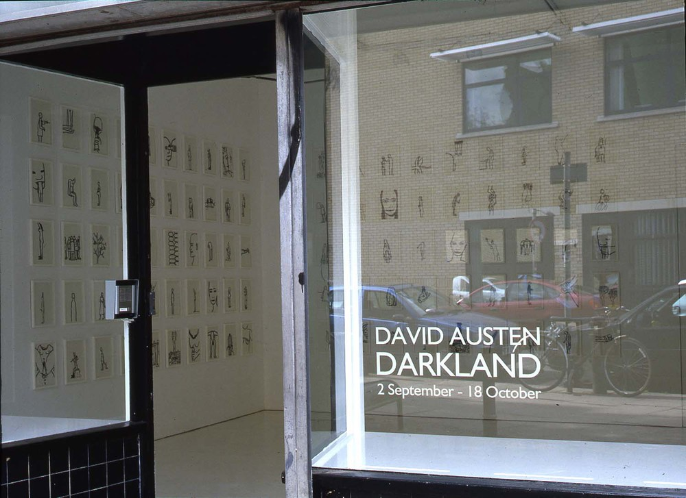Installation shot from Darkland  2004
