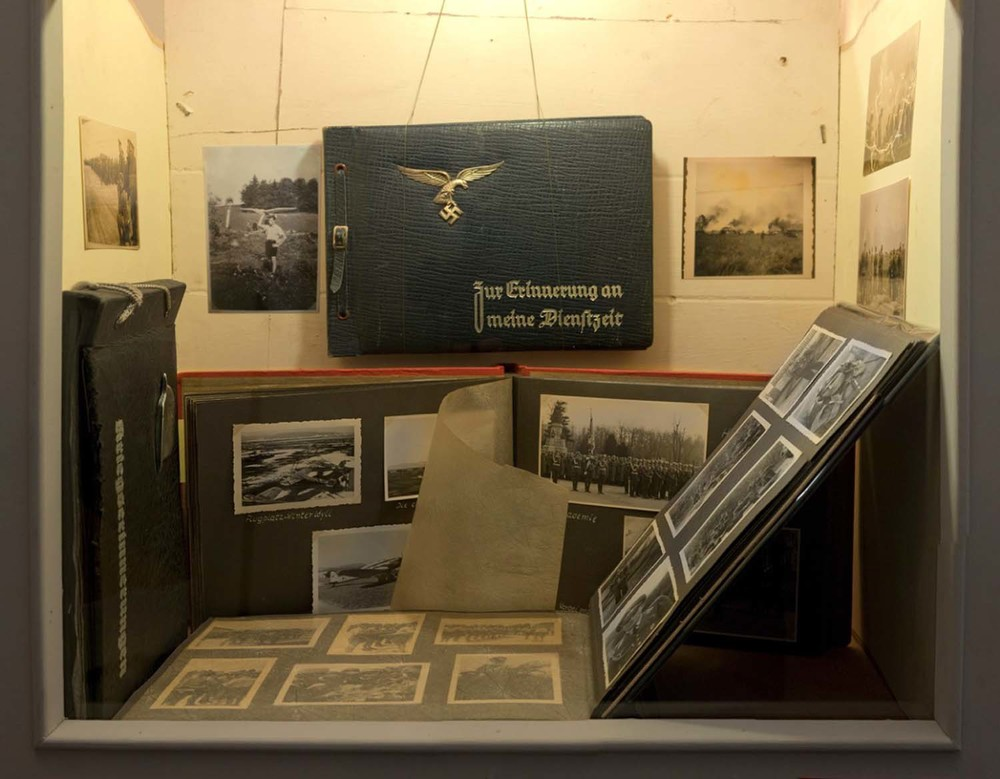 Selection of German photo albums from 1930s and 1940s dimensions variable