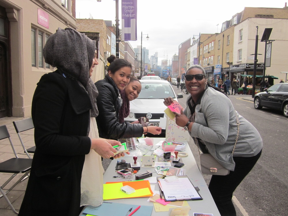 Feb 2013: Hoxton Free Art School