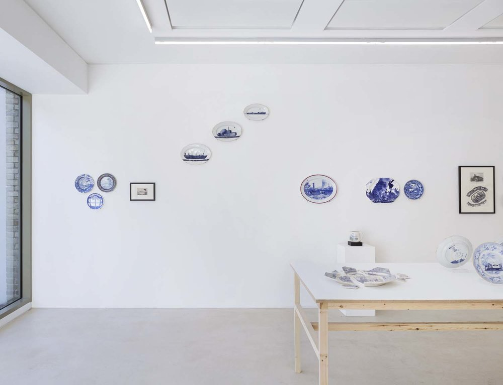 Gallery 2, installation view: Paul Scott, Home Truths. Photo: Ollie Hammick.