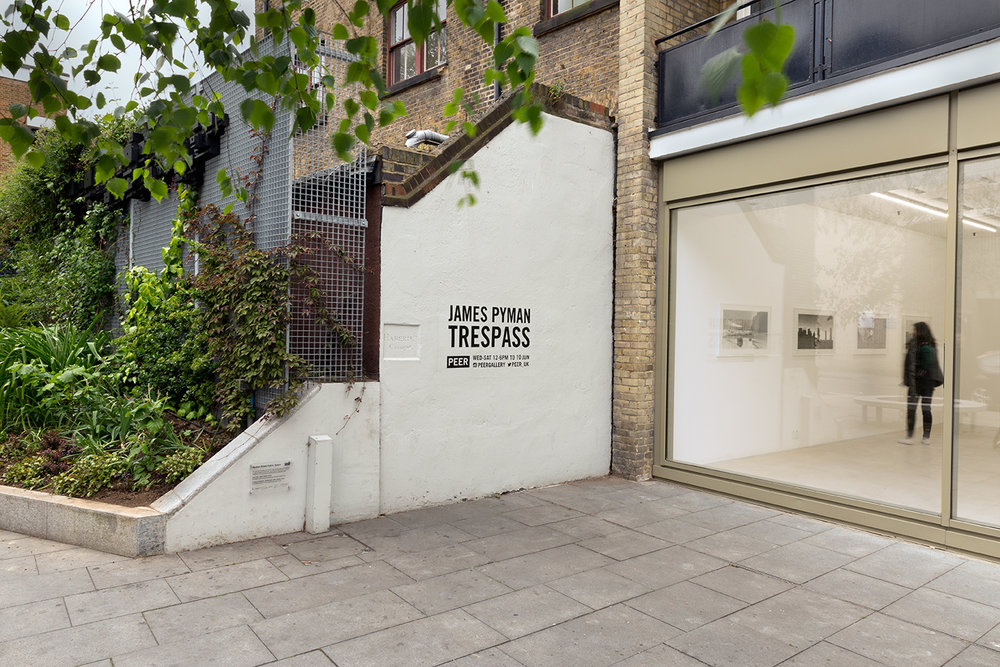 External view: James Pyman,  Trespass  at PEER. FXP Photography.