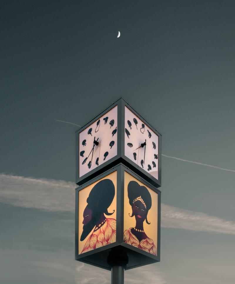 PEER Clock commission at dusk