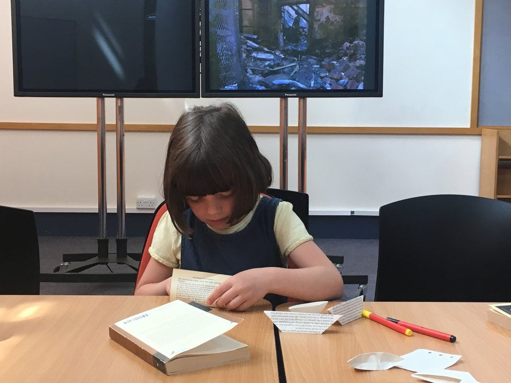 Making ghost money at Shoreditch Library