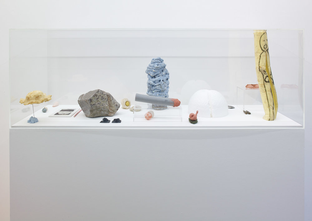 Installation view of Smile Please, 2018. Image: Jackson White