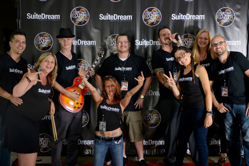 The SuiteDream® Team on the red carpet