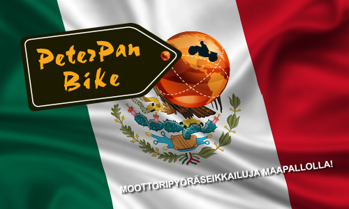 #meksiko moottopiryörämatka