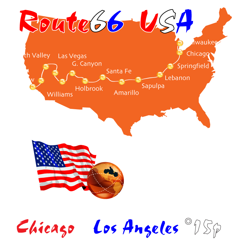 #route66usa #route66map